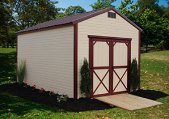 Dutch Lap End Utility High Wall Barn