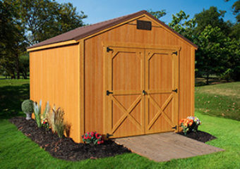 Dura Shed End Utility Low Wall Barn