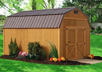 Treated End Lofted Barn