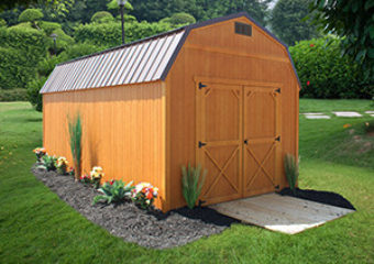 Dura Shed End Lofted Barn