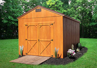 Dura Shed End Utility High Wall